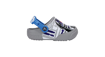 Crocs Children's Funlab Light Up Star Wars R2D2 Clogs, Blue, Size UK 5 Infant