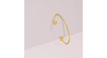 Kate Spade New York Loves Me Knot Double Cuff, Gold