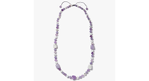 Lola Rose Eleanor Statement Quartzite Necklace, Lavender