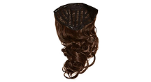 Frankie Essex Hair One Piece Bouncy Curled Extensions, 20 Inch, Colour #6 Caramel, RRP: £38.99